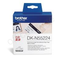 Brother DK-N55224 54mmx30.5m Continuous Non-Adhe Paper Lab Tape Ref DKN55224 Manufactures