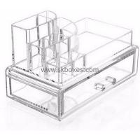 China Factory hot selling makeup acrylic organizer with drawer BMB-014 on sale
