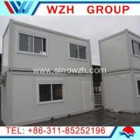 Container Dormitory with Bright Color
