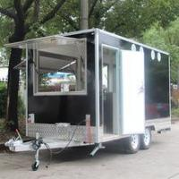 China Customised Vehicle Tralier Catering Trailer Mobile Food Trucks Foodtruck YS-FB450D on sale