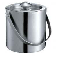 IB047-03 1.5L Stainless Steel Double-Walled Bar Ice Bucket Wine Cooler Ice Container with Lid Manufactures