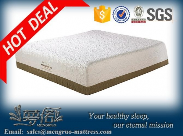 Quality dream collection sleepwell visco gel memory foam mattress for sale