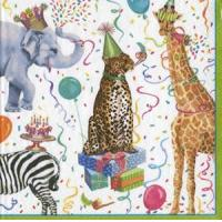 Party Animals Paper Luncheon Napkins - 20 per package Manufactures