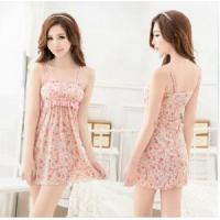 manufacturer wholesale 2014 cute padded flower babydoll lingerie accept OEM A80410 Manufactures