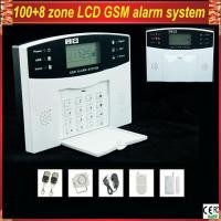GSM-500 Wireless Home Security LCD display GSM Alarm System with remote control
