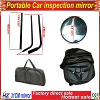 Low price promotion under vehicle checking mirror for safe with LED light Manufactures