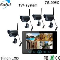 "HD 9""TFT-LCD wireless baby/elderly monitor with quad band motion sensor camera Manufactures"