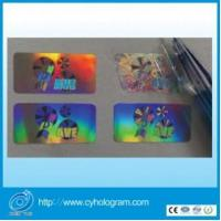 Customize Tamper Evident Holographic Stickers For Packing Seal Manufactures