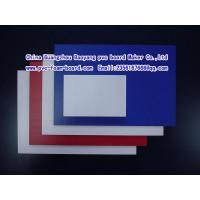 PVC foam board with different density/forex board/kappa Manufactures