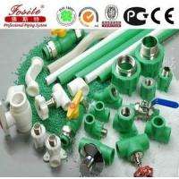 PPR material types of plastic water pipe manufacturer Manufactures