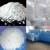 China Calcium chloride 74%min Flake/granular/pellet/powder on sale