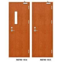 China Painted Fire Rated Timber Door on sale
