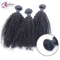 Buy cheap 3pcs/lot 7A 100% Indian Virgin Human Hair Weave Kinky Curly Weft 8