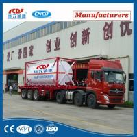 20ft Lox Lin Lar LNG Lco2 Tank Container Asme T75 ISO Tank Container For Liquid Gas Manufactures