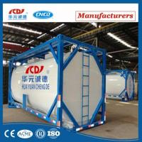 New 20ft ISO Tank Container For LN2 LOX Manufactures