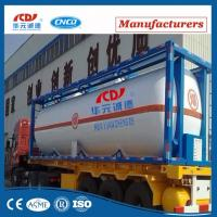 Liquid Cryogenic Storage 20ft Iso Tank Container Manufactures