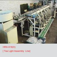 Buy cheap HRX-X18(X)--Tea Light Assembly Line from wholesalers