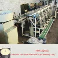Buy cheap Tea light assembly line HRX-X24(X) from wholesalers