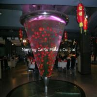 Cone acrylic fish tank Manufactures