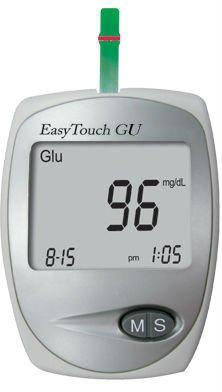 Quality ET-201 EasyTouch Blood Glucose and Uric Acid Mete for sale
