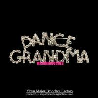 Event Brooches DANCE GRANDMA Pins Custom Made Gift Brooch MP046 Manufactures