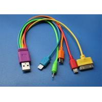 Buy cheap Charge cable colorful 5-in-1 Charge from wholesalers