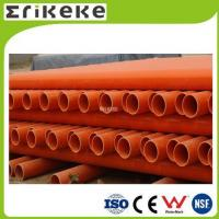 PVC pipe and fittings Low price colored electrical pvc pipe sizes Manufactures
