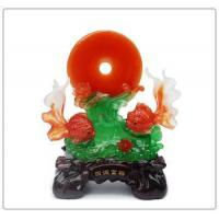 Chinese Luckly fengshui fish ,fish statue, fish figurine for home decor Manufactures