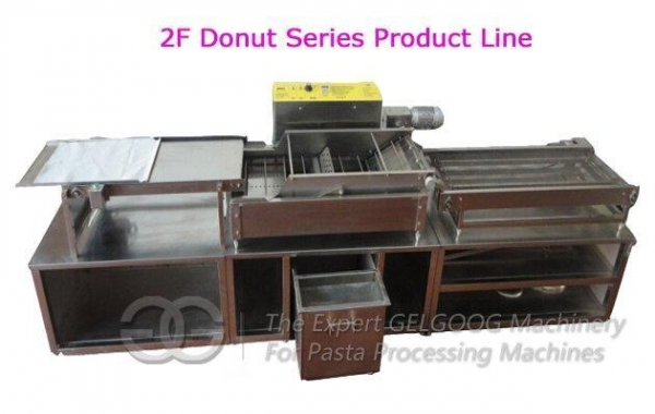Quality Big Capacity Automatic Yeast Donut Making Production Line For Sale for sale