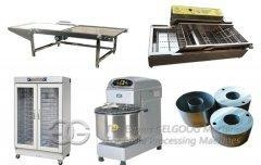 Quality GGQ8F Table Type 1600pcs/h Donut Making Production Line Supplier in China for sale