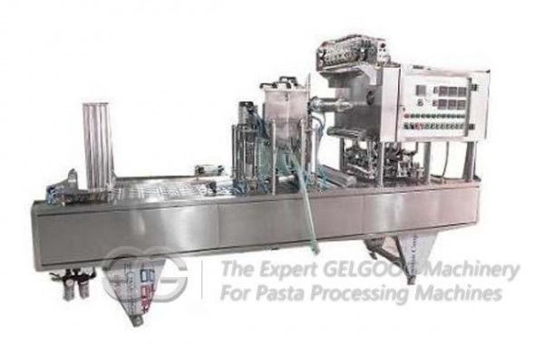 China Automatic Cup Noodle Packing Machine, Cup Noodle Filling And Sealing Machine