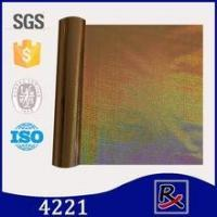 4221 PET rose gold metallic holographic leather clothing hot stamping foil Manufactures