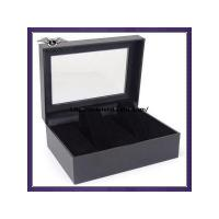 double paper watch box with window Manufactures