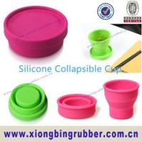 Food standard reusable silicone coffee cup Manufactures