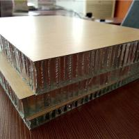 Quality Wood Color Coated Aluminium Honeycomb Panels for Doors and Furniture for sale