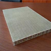 FRP Plywood Panels Light Weight Rough Surface Fiberglass Honeycomb Panels Manufactures