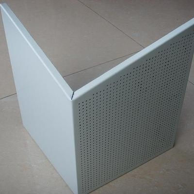 China 0.8mm solid aluminum ceiling tiles, perforated aluminum ceilings board