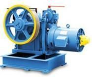 China Elevator Components Geared Traction MachineGeared Traction Machine on sale