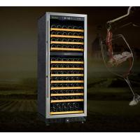 China Dual Zone wine cooler Compressor Wine Cellar Elite-120T on sale