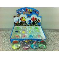 Bouncing ball flashing water ball - with fish Manufactures