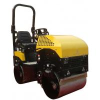 1 tons double steel wheel drive roller Manufactures