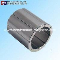 Buy cheap E&H013Sintered Segment Motor Magnets from wholesalers