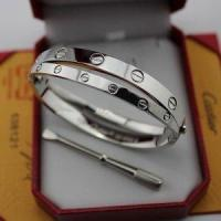 Fake Cartier Love Bracelet Two White Gold Love Bangles Manufactures
