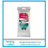 China 20pcs auto cleaning wipe/auto wet wipes/car wipes on sale