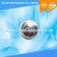 Buy cheap 50,8mm Impact Test Steel Ball without Ring from wholesalers