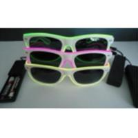 EL Wire Glasses With Sunglasses Lens For Party