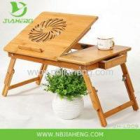 China BAMBOO PORTABLE LAPTOP NOTEBOOK COMPUTER DESK TABLE BED STAND WORK LAP TOP TRAY on sale