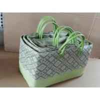 Buy cheap New arrival summer fashion straw basket beach bag from wholesalers