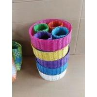 Buy cheap Hot Sale colorful PP Woven Storage Basket from wholesalers