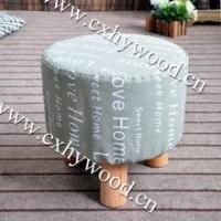 Low Wooden Stool Home Furniture Ottoman Bed Stool Manufactures